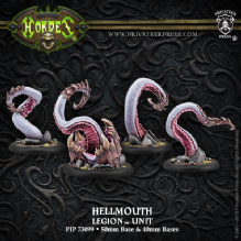 Legion Unit Hellmouth (4)  inc resin